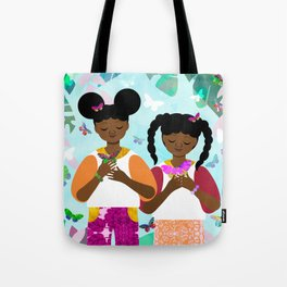 Under the Forest Trees Tote Bag