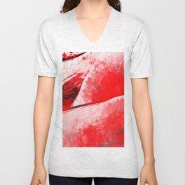 Bloody Mary - Abstract Digital Art Unisex V-Neck