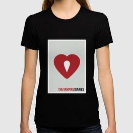 The Vampire Diaries - Minimalist T-shirt
