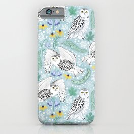 Snowy Days on a Snowy Day iPhone Case