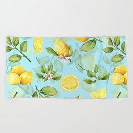 Lemonade Beach Towel
