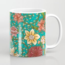 Floral Swirl Coffee Mug