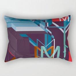 M! Rectangular Pillow