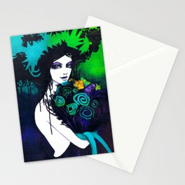 Flora the Goddess of Flowers Stationery Cards