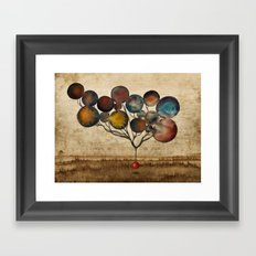 A Cosmic Incident Framed Art Print