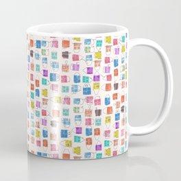Water colour houses Coffee Mug
