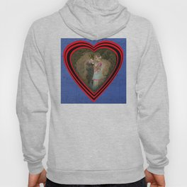 """""""Chats amoureux 1900, la partition"""" / """"Lovers cats 900, the partition"""" Hoody"""