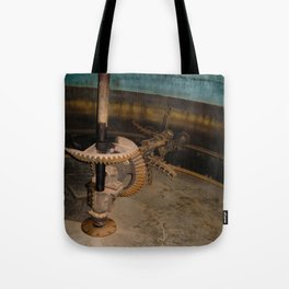 Gears at the Distillery Tote Bag