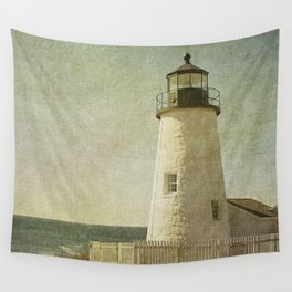 Pemaquid Lighthouse Wall Tapestry