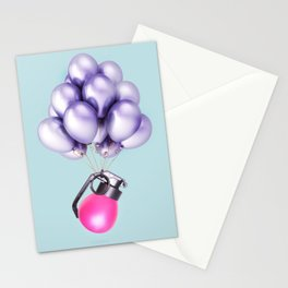 Peaceful Grenade Stationery Cards