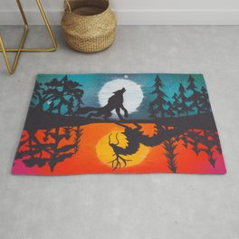 Merriment and Mystery Rug