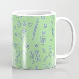 Medical doodles Coffee Mug