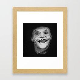 Jack The Joker Framed Art Print