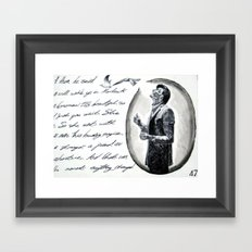 Part #2 -  The Best We've Done is Yet to Come Framed Art Print