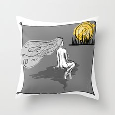 City Tonight Throw Pillow