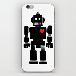 Loverbot iPhone Skin