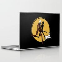 tintin Laptop & iPad Skins featuring Jack and zero by le.duc
