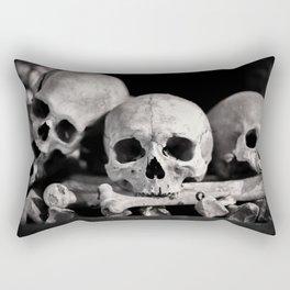Skulls And Bones Rectangular Pillow
