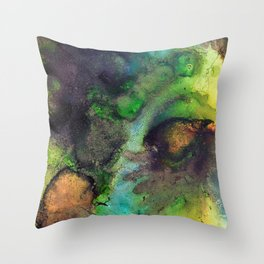 Dreams of the Forest Throw Pillow