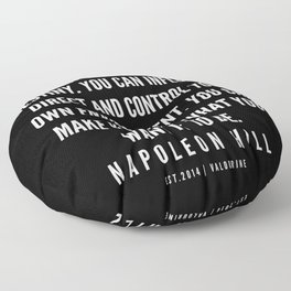 3  | Napoleon Hill Quote Series  | 190614 Floor Pillow