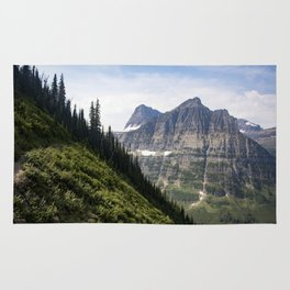 Glacier Mountains Rug