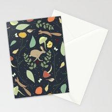 Woodland Pattern I Stationery Cards