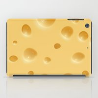 cheese iPad Cases featuring cheese by rchaem
