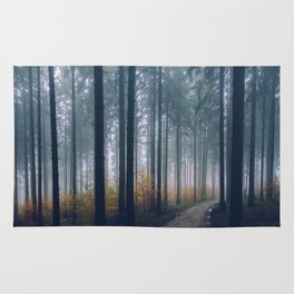 Into the woods #fog Rug