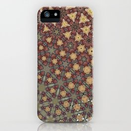 textured pattern2 iPhone Case