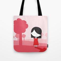 Polkadot Dress Tote Bag