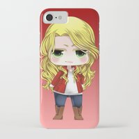 ouat iPhone & iPod Cases featuring OUAT - Chibi Emma Swan by Yorlenisama