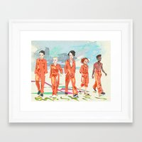 misfits Framed Art Prints featuring Misfits by aNiark