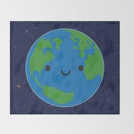 Planet Earth Throw Blanket