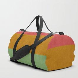 """Spring pastel horizontal lines"" Duffle Bag"