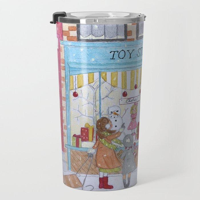Holiday shopping Travel Mug