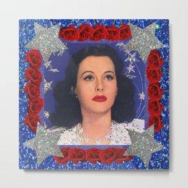 Ziegfeld Girl - Hedy Lamarr - Screen Siren  Metal Print