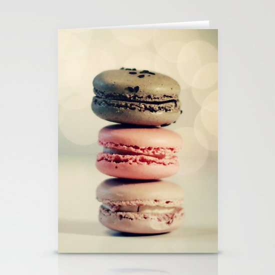 macarons . . . Stationery Cards