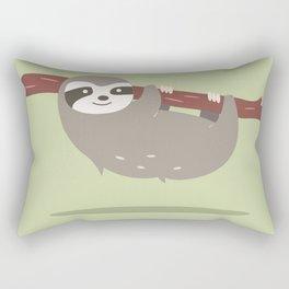 Sloth card - I'm your spirit animal Rectangular Pillow