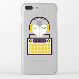 Radio Mode Love Clear iPhone Case