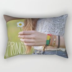 Waiting for Summer Rectangular Pillow