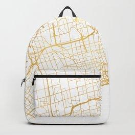TORONTO CANADA CITY STREET MAP ART Backpack