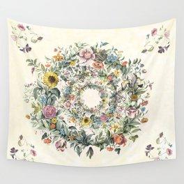 Circle of Life Cream Wall Tapestry