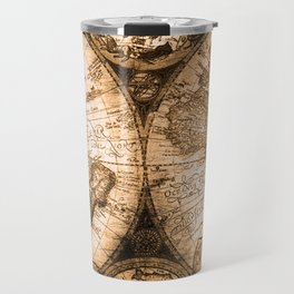 World Map Antique Vintage Maps Travel Mug