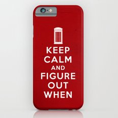 Keep Calm and Figure Out When iPhone 6s Slim Case