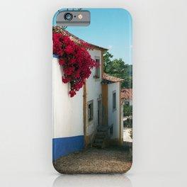 Portugal, Obidos (RR 180) Analog 6x6 odak Ektar 100 iPhone Case