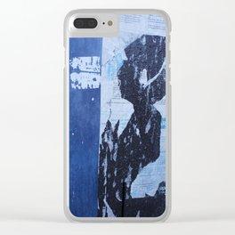 Dirty Paris - Street B Clear iPhone Case