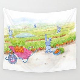 Garden Life Wall Tapestry