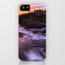 Falls at first light iPhone Case
