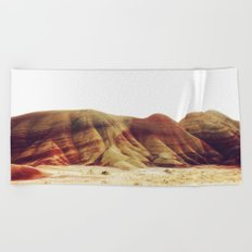Oregon Painted Hills Beach Towel