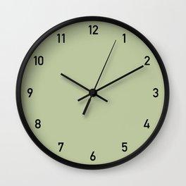 Clock numbers leaves 2 Wall Clock